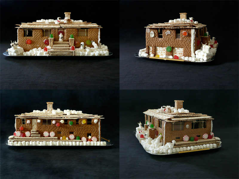 Life Outtacontext Selling Your House Say It In Gingerbread - Gingerbread house garage