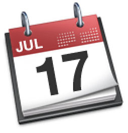 Apple's iCal Application Icon