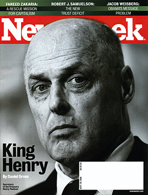 Henry Paulson on Newsweek