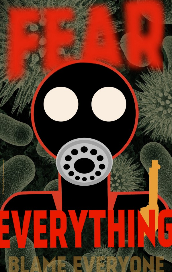 Fear Everything Poster from the Chamomile Tea Party